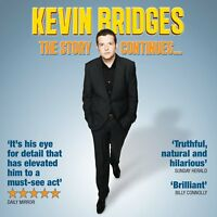 KEVIN BRIDGES The Story Continues... 2012 Audio CD NEW/UNPLAYED
