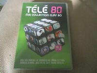 "COFFRET DVD + CD ""TELE 80 - MA COLLECTION CLIPS 80, VOLUME 2"""