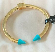 """""""Sterling Forever"""" Open Cuff Imported Cone Tip Bangle"""