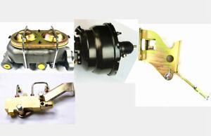 1967-72 Chevy Truck c10 Suburban Brake Booster + Master Cylinder Disc Drum Kit