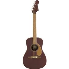 Fender Malibu Player Electro Acoustic Guitar Burgundy Satin