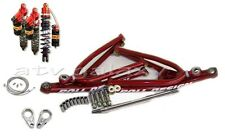 Roll Design Long Travel Arms + Elka Legacy Front Rear Shocks Honda TRX450R 450R