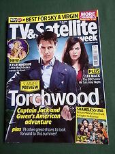 TV & SATELLITE WEEK UK MAGAZINE -18-24 JUNE 2011- TORCHWOOD - KYLIE MINOGUE