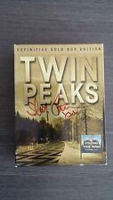 Twin Peaks The Definitive Gold Box Edition DVD Signed by Sherilyn Fenn 12 Times!