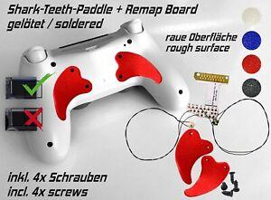 Remap Board Easy PS4 PLAYSTATION Controller Remapper Soldered Shark-Teeth Paddle