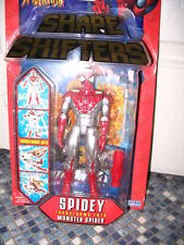 SPIDERMAN SPIDEY TRANSFORMS INTO MONSTER SPIDER SHAPE SHIFTERS NEW VERY RARE