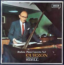 DECCA SXL 6023 ED 1 WB AUS PRES BRAHMS PIANO CONC 1 CURZON LSO SZELL EX+ COND