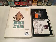Death On The Nile Betamax NOT VHS 1978 Agatha Christie Mystery Peter Ustinov