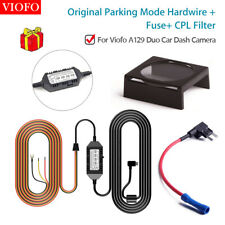 HK3 Parking Mode Hard Wire + Fuse Holder w/ CPL Fit Viofo A129 Duo Car Dash Cam