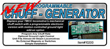 10200 Programable Chuff Generator Kit for Lionel TMCC Steam Locos, O Gauge