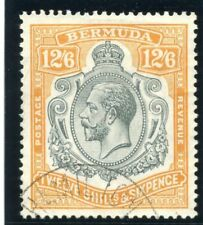 Bermuda 1932 KGV 12s 6d grey & orange (CH) very fine used. SG 93. Sc 97.