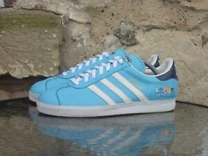 2006 Adidas Gazelle Honolulu Samples UK8.5 / US9 Blue White Originals Rare