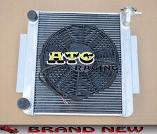 For TOYOTA CELICA GT TA22 / TA23 2T 1.6L MT 73-78 3 Row Aluminum Radiator + Fan