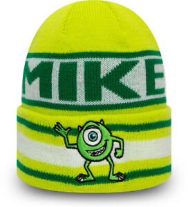Monsters Inc. Mike New Era Disney Character Kids Knit Beanie (Age 4 - 10)