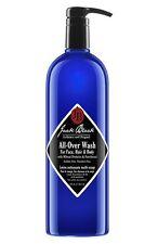 JACK BLACK All Over Body Wash for MEN Face Cleanser Hair Shampoo 33 oz