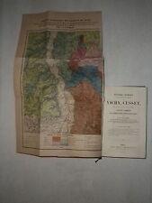 1854 - 55 AUVERGNE ALLIER PUY DE DOME . RHONE ALPES EVIAN