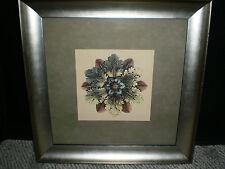 Beautiful Phoenix Galleries Golden Rosette I Framed Print Silver Textured Frame
