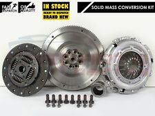 POUR BMW 118d 120d 320d 520d Dual SOLIDE MASSE VOLANT EMBRAYAGE KIT CONVERSION N47