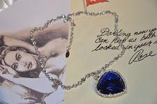 Titanic Heart of the Ocean Necklace 20th Anniversary Replica