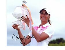 Cheyenne Woods LPGA star hand signed autographed 8x10 golf photo Tiger's Niece