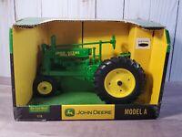 Ertl John Deere Model A Farm Tractor Narrow Wheel 1:16 Scale Diecast Dealer Toy