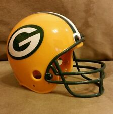 Vintage Green Bay Packers NFL Mini Helmet Coin Piggy Bank Riddell Collectibles