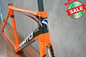 SARTO DINAMICA  ORANGE CARBON ROAD BIKE SIZE M (FRAME SET)