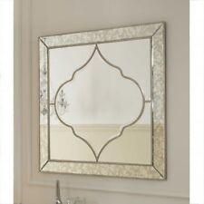 Premium Large Bevelled Edged Casablanca Wall Mirror 100cm X 100cm