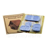 Dolls House Miniature Gingerbread House Kit With Silicone Mould