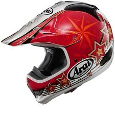 ARAI VX-3 SALMINEN STAR RED SIZE X-SMALL (53-54CM) MOTOCROSS ENDURO OFFROAD