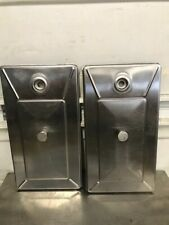 Lot of 2 S/S Hopper Cover Lids for Taylor Ice Cream Machine