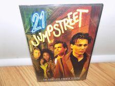 21 Jump Street - The Complete Fourth Season (DVD, 2011, 4-Disc Set) NEW