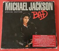Bad special edition Michael Jackson CD Speed Demon bonus Quincy Jones 2001