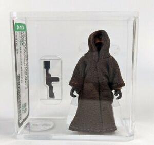 1977 Kenner Star Wars Jawa AFA 85 Action Figure Graded Dark Brown Stitch #2