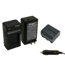 Battery + Charger Kit for JVC BN-VF707U Everio GZ-MG21U GZ-MG20U GZ-MG30 GZ-MG31