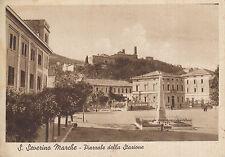 San Severino Marche -  Piazzale della Stazione  -1939