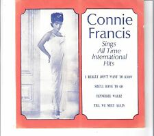 CONNIE FRANCIS - sings all time international hits   ***Thailand - Press***