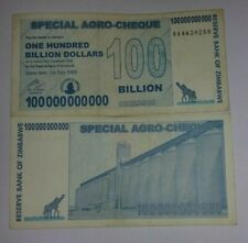 ZIMBABWE 100 BILLION DOLLARS - CIRCULATED NOTE