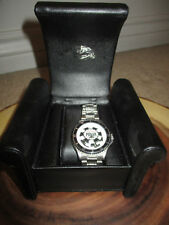 WORLD SERIES OF POKER SOUVENIR  WATCH   LEATHER CASE COLLECTORS ITEM
