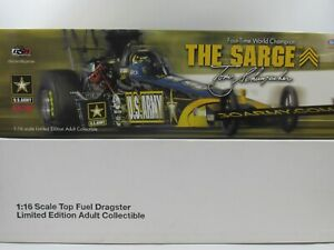 2007 Tony Schumacher 1:16 Top Fuel 2007 Nitro Dragster Go Army Milestone DSR-376