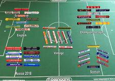 Advertisement Boards for Subbuteo/Zeugo Stadium