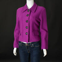 GERRY WEBER for lady Womens Blazer casual JACKET Size E42, U12 Violet Authentic