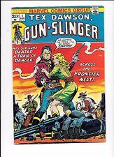 Tex Dawson, Gun-Slinger #1 Jim Steranko cover, Gun-Slinger #2, #3 complete set
