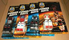 GOBOTS vintage 80s toy 4 armor POWER SUIT RENEGADE GUARDIAN go-bots machine robo