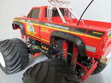 Black Rubber Fender Flares 4pcs Tamiya 1/10 Super Clod Buster Clodbuster Truck