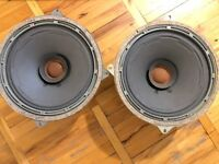 PAIR№2 of LEGENDARY HI-END FULLRANGE Soviet Speakers 4A-32B, 12 inch, 25W, KINAP