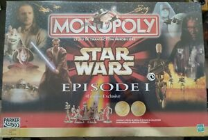Monopoly Star Wars Episode 1 Édition Exclusive HASBRO 1999