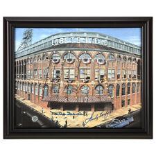 Sandy Koufax & Duke Snider Autographed Ebbets Field Print GFA Authenticated NEW