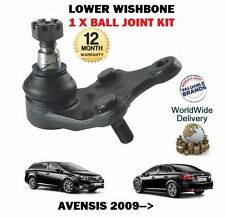 FOR TOYOTA AVENSIS 2009-->NEW LOWER SUSPENSION WISHBONE ARM 1 X BALL JOINT KIT