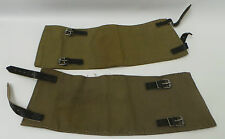 ARMY : WWII STYLE MILITARY BOOT COVERS POSSIBLY U.S. ARMY FIELD GEAR MODERN(CCB)